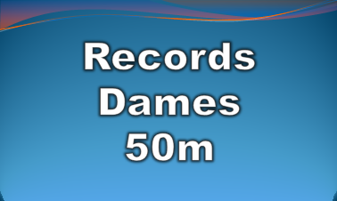records dames 50m